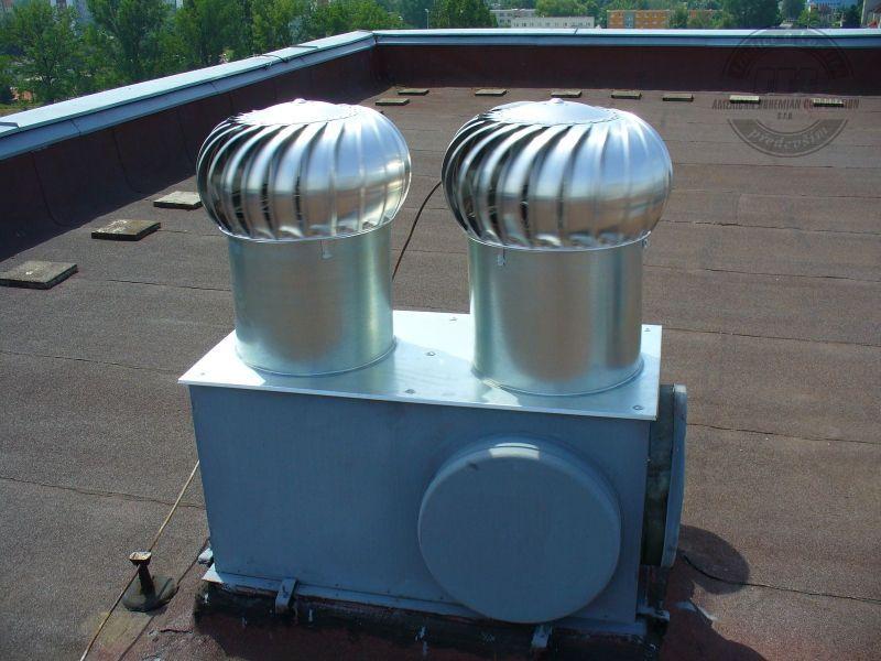 Ventilační turbíny lomanco